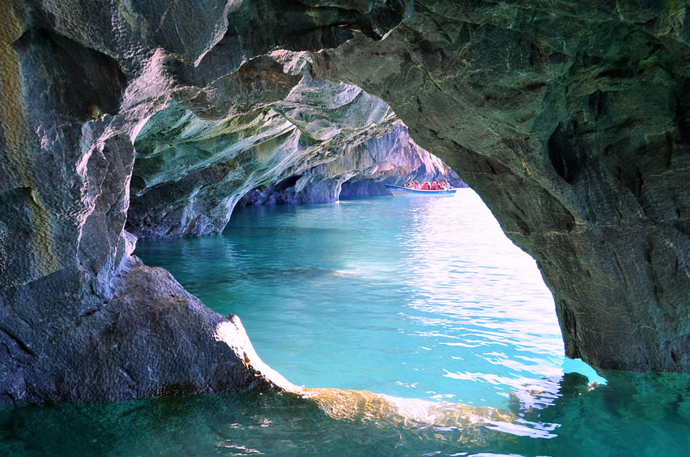 Woah At This Marble Cave At Patagonia South America Jam For Today Jam For Today